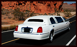 Limousine service in White Sands